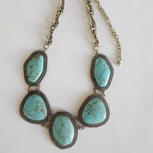Premier Designs BoHo Chic Necklace turquoise style
